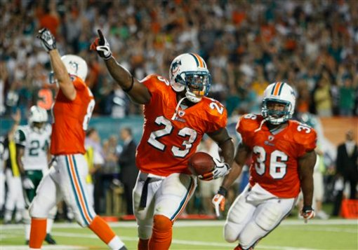 Ronnie Brown and the <a href=